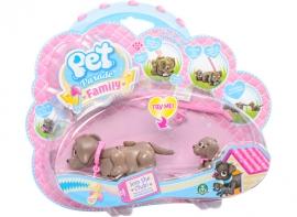 Игровой набор собака и щенок породы лабрадор Pet Parade арт. PTF00000/UA/1