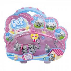 Игровой набор кошка и котенок породы египетский мау Pet Parade арт. PTF00000/UA/5