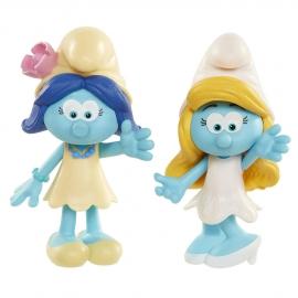 Игрушка фигурка арт. 96566 (96562) Smurfs Smurfette and Smurfblossom в блистере