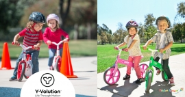 Y-volution - новое поколение самокатов и велобегов