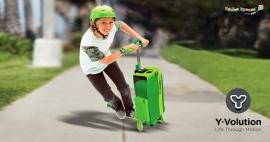 Самокат с рюкзаком Y Glider To Go XL Y-Volution