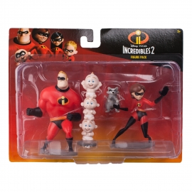 Набор из 4-х фигурок Incredibles 2 в коробке, артикул 76708