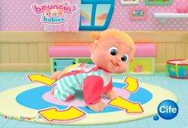 Ползающие интерактивные пупсы Bouncin' Babies