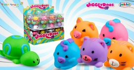 Новинка! Мягкие зверушки Jigglydoos