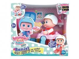 Кукла Bouncin' Babies Baniel с машинкой арт. 801001