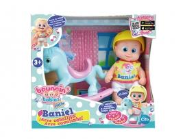 Кукла Bouncin' Babies Baniel с лошадкой арт. 801003