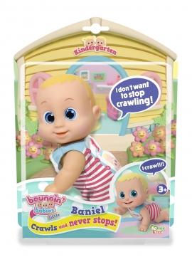 Кукла Bouncin' Babies Baniel ползающая арт. 802002