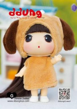Кукла Ddung Год Собаки в блистере арт FDE0903do
