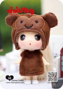 Кукла Ddung Год Обезьяны в блистере арт FDE0903mo