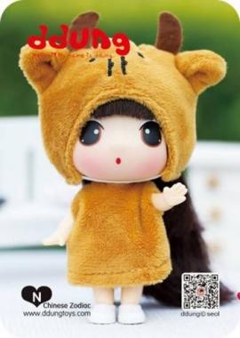 Кукла Ddung Год Быка(Коровы)в блистере арт FDE0903ox