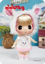 Кукла Ddung в коробке арт FDE1804