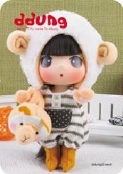 Кукла Ddung в коробке арт FDE1805