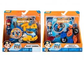 Игровой набор фигурка с мотоциклом Rusty Rivets арт. 6044252