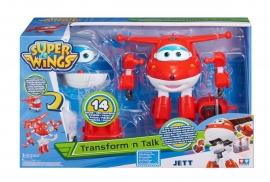 Игрушка трансформер  разговаривающая Super Wings Арт. YW710310 Jett