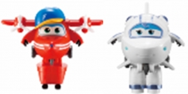 Игрушка трансформер Super Wings Арт.EU720030A Flip&Astra