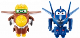 Игрушка трансформер Super Wings Арт.EU720030AB Todd&Agent Chace