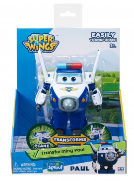 Игрушка трансформер Super Wings Арт.YW710250, Paul