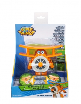 Игрушка трансформер Super Wings Арт.YW710260, Grand Albert