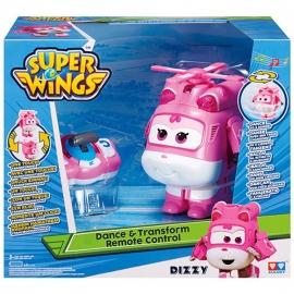 Игрушка трансформер танцующий на р/у  Super Wings Арт. YW710740 Dizzy