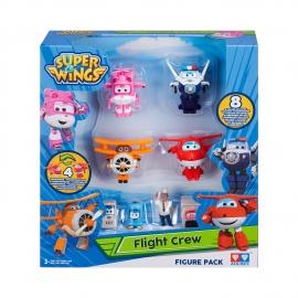 Игровой набор фигурки-трансформеры  Super wings арт. YW710650A Flight Crew