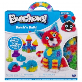 Конструктор-липучка Bunchems Bunch'n Build арт 6044156