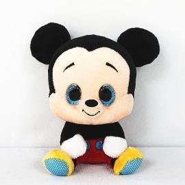 Мягкая игрушка Микки Маус с большими глазами 15 см арт. PDP1602245