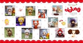 Коллекция куколок Ddung Знаки Зодиака