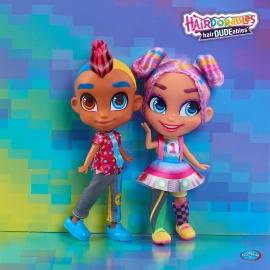 Ляльки Hairdudables хлопчик та дівчинка
