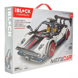 Конструктор IBLOCK Мегаcar PL-920-153