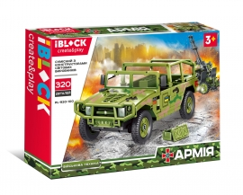 Конструктор IBLOCK Армія PL-920-100