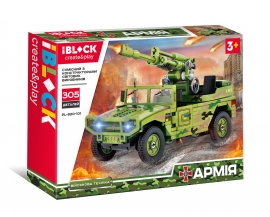 Конструктор IBLOCK Армія PL-920-101