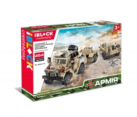 Конструктор IBLOCK Армія PL-920-171