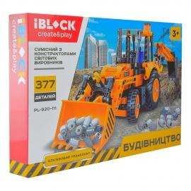 Конструктор IBLOCK Будівельна техніка PL-920-111