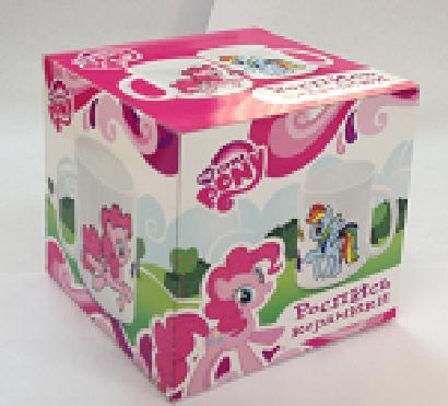 Іграшка набір для творчості чашка арт. 1271-17 My Little Pony, фарби, пензлик, в кор. 9 * 9 * 9см