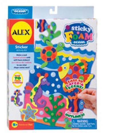 """Набір для творчості арт.4580C ТМ """"ALEX"""" """"Мозаїка та аплікація - Фомова аплікація Океан"""""""
