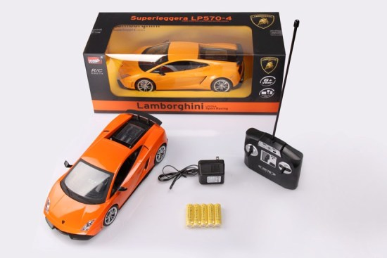 Іграшка машина на р/к 1:14 арт. 2035  Lamborghini LP570, у кор. 31,5*15,5*8,5см