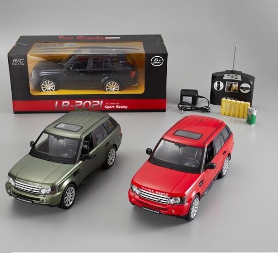 Іграшка машина на р/к 1:14 арт.2021 Land Rover, акум., у кор. 35*15,5*12,5см, 3 кольори