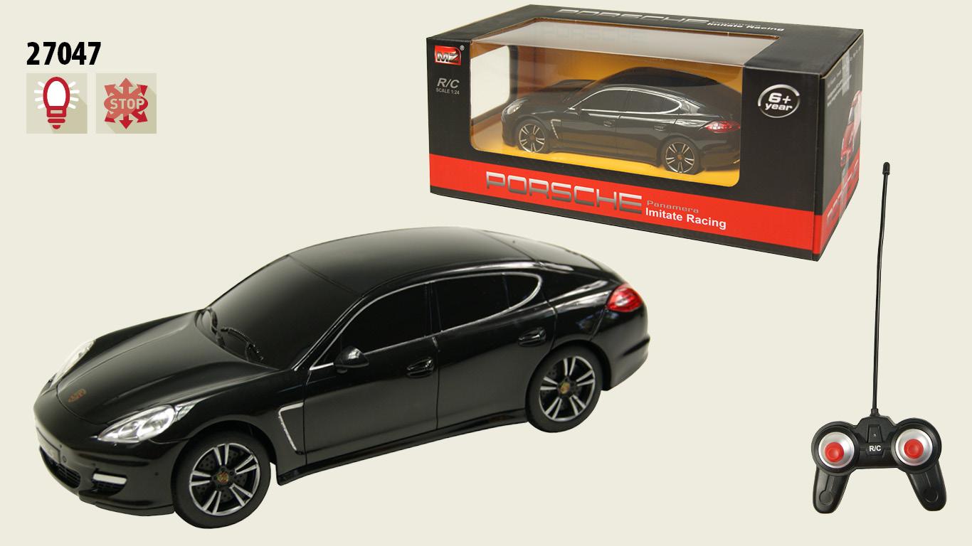 Іграшка машина на р/к 1:24 арт 27047  Porsche Panamera, у кор. 20,5*9*6см