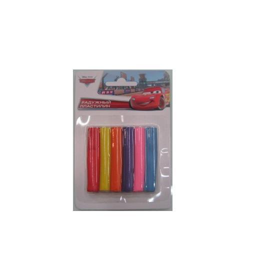 Іграшка набір для творч. MCQ-004-T Тачки восковий пластил.,6 кольорів на планш.