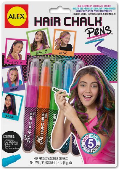 """Набір для творчості арт.238W ТМ """"ALEX"""" """"Майстер макіяжу - Крейда для волосся кольорова набір мал."""