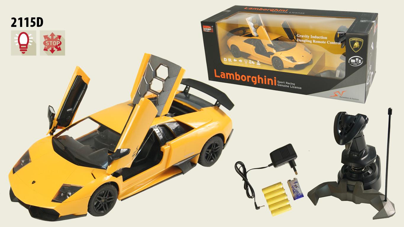 Іграшка машина на р/к 2115D Lamborghini LP670, у кор.