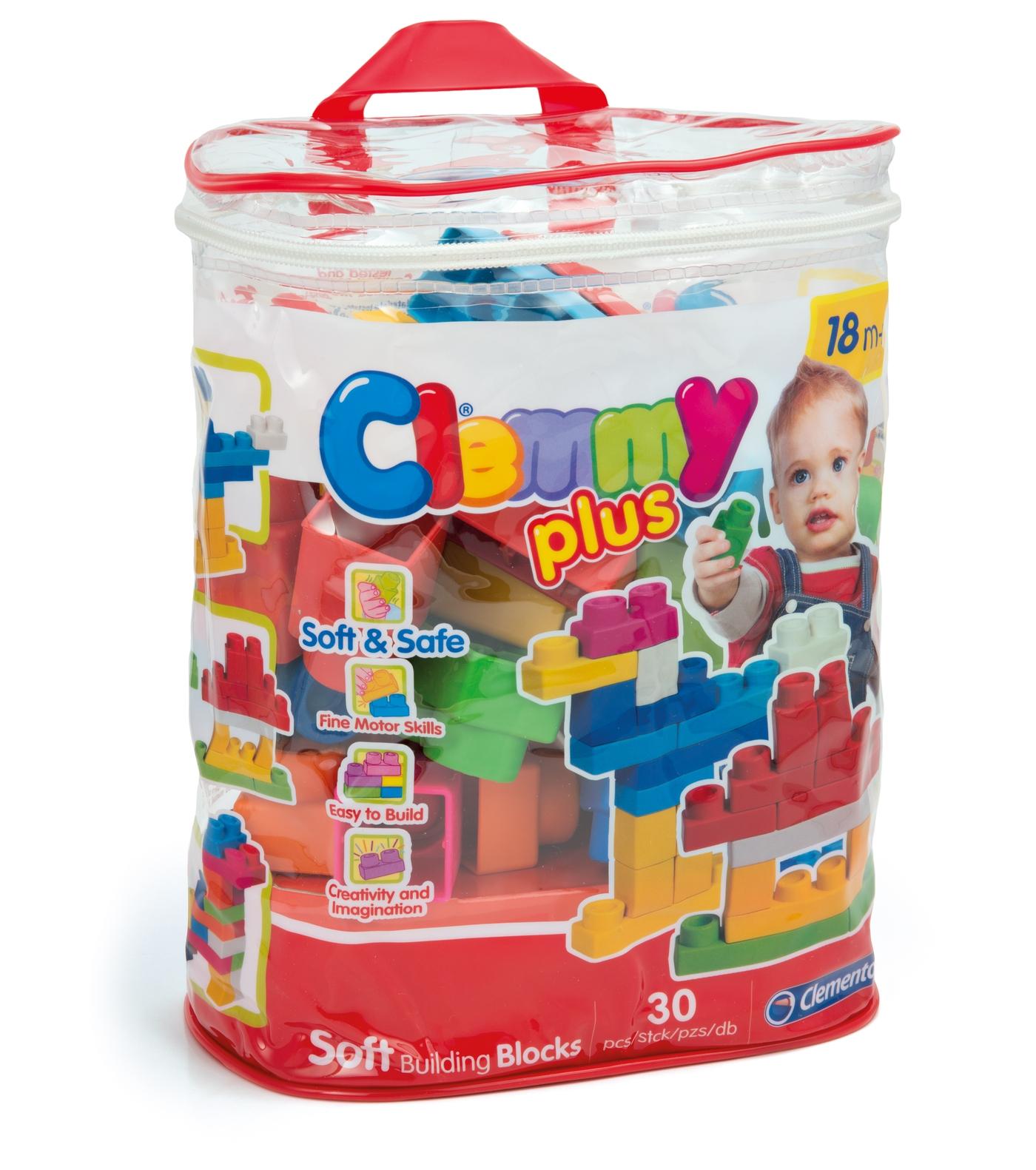 Конструктор Clemmy Plus Арт.: 14879 (30 дет. в упаковке)