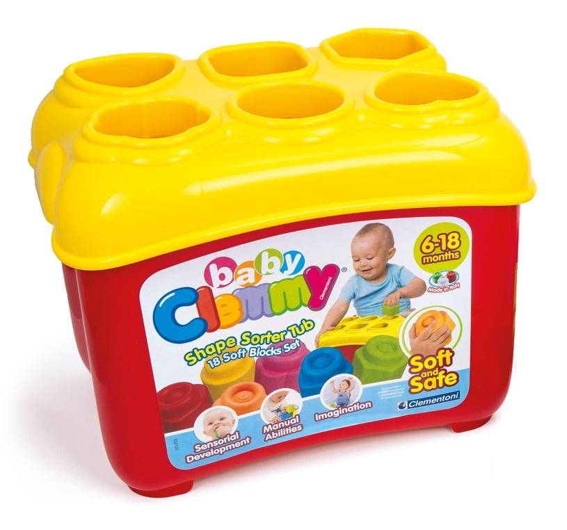 Конструктор Baby Clemmy Сортер Арт.: 14884 (18 дет, в упаковке)