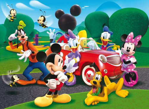 "Іграшка пазли ТМ ""Clementoni"" арт.29489 Микки и его новая машина 250 эл."