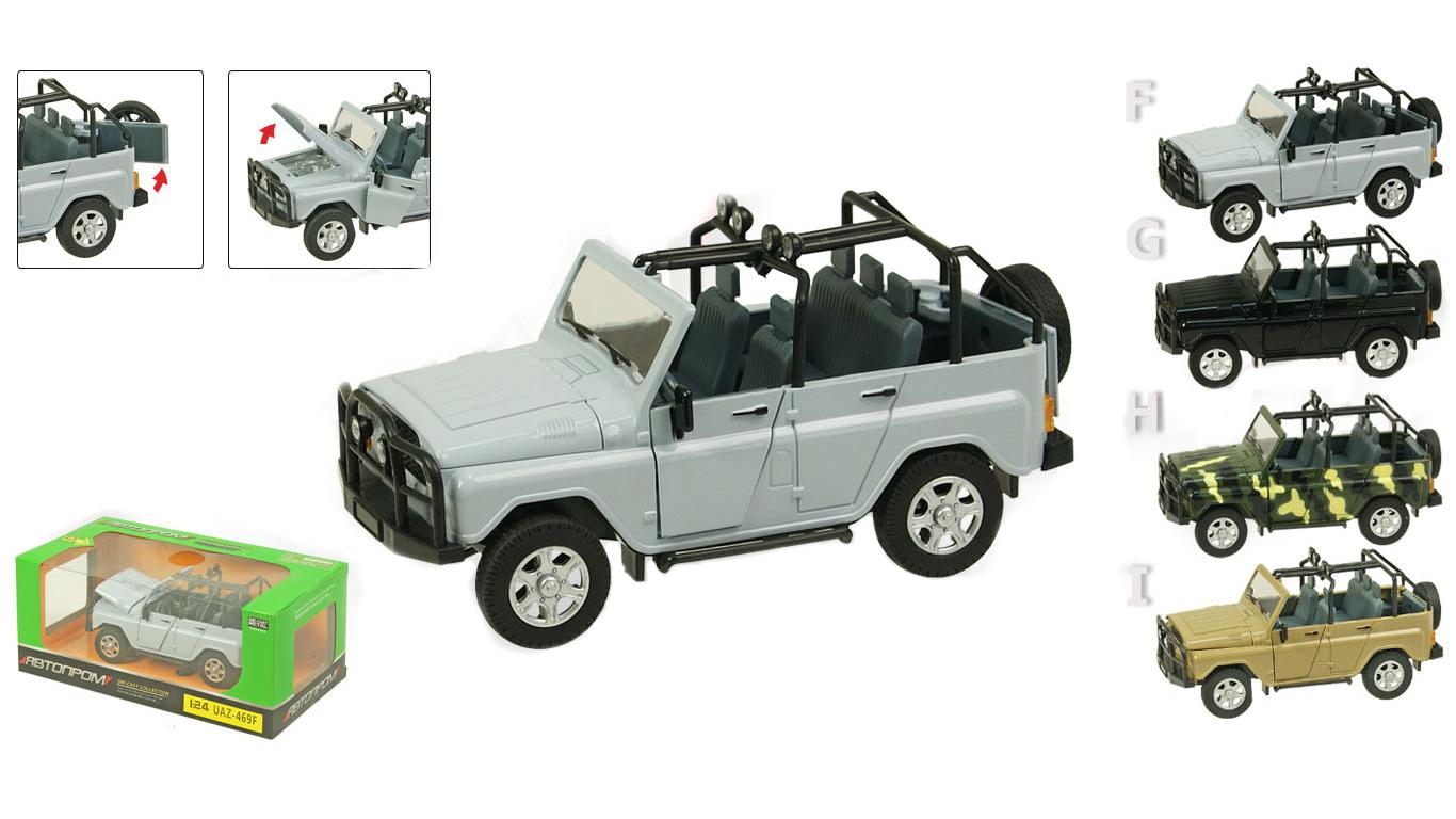 Іграшка машина метал. Автопром: UAZ-469F