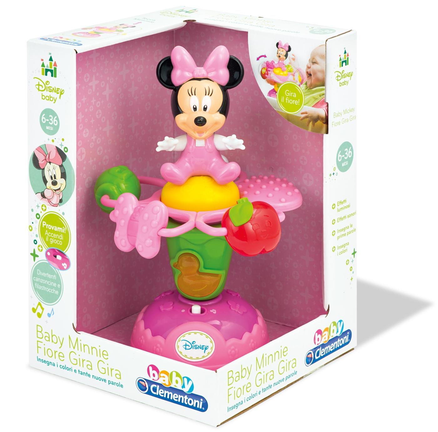Музыкальная игрушка Baby Сlementoni Minnie Арт.: 14925 (музыка, свет)