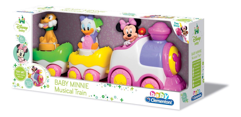 Развивающая игрушка Baby Сlementoni Поезд Minnie Арт.:14940 (музыкальный)