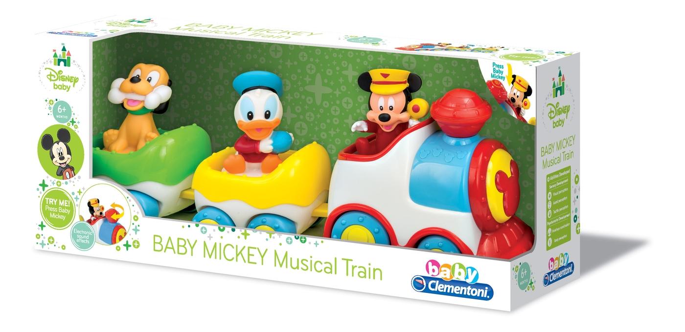 Развивающая игрушка Baby Сlementoni Поезд Mickey Арт.: 14361 (музыкальный)