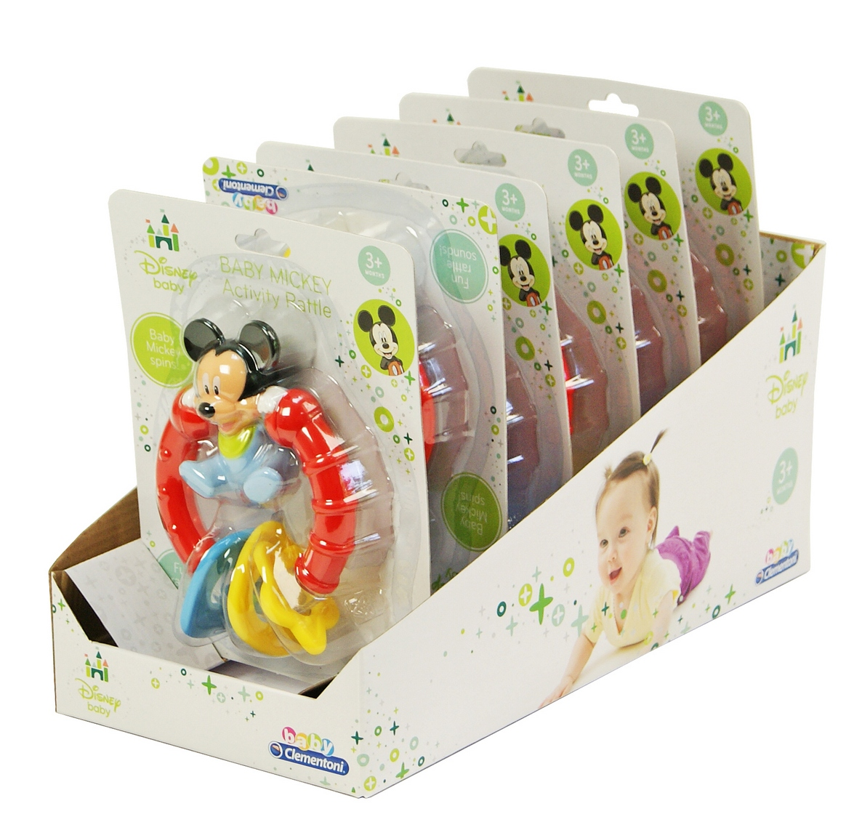 Погремушка Baby Сlementoni Mickey Mouse Арт.: 14415 (новый артикул: 14382) (6 шт. в дисплее)