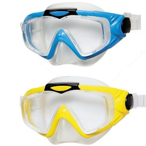 """Маска для плавання INTEX  арт.  55981 """"Профі"""" гіпоалергенний  сілікон термопластик"""